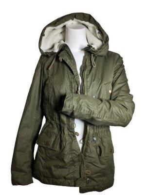 H&M Kurtka zimowa ciemnozielony