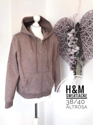 H&m Jacke Kapuzenpulli Pulli Oberteil neu 38 40 sweater Strickjacke cardigan