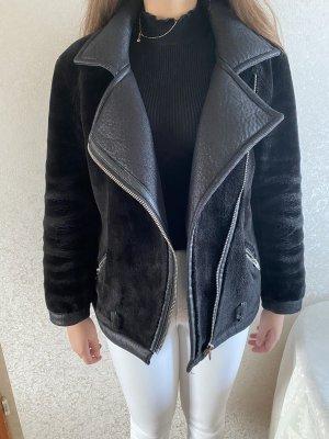 H&M Podwójna kurtka czarny