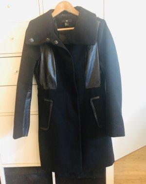H&M Jacke mit Lederapplikationen Gr S - M