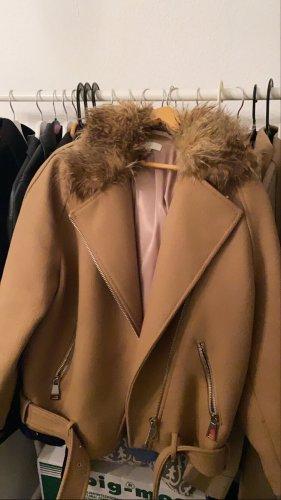 H&M Giacca in eco pelliccia multicolore