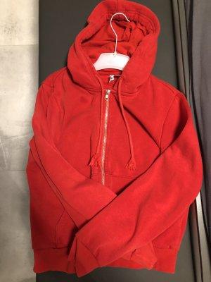 H&M Veste à capuche rouge