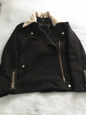 H&M Jacke schwarz