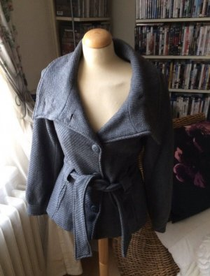 H&M Jacke Wolle Caban Gr 34 Xs