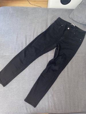 H&M Jeans Hose Schwarz Gr. 40