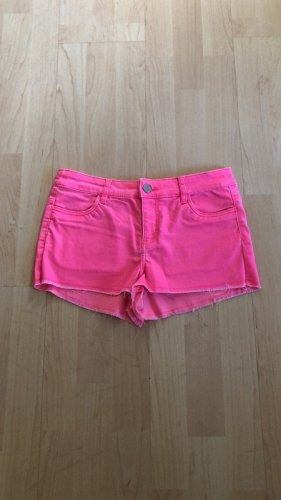 H&M Jeans stretch rose fluo