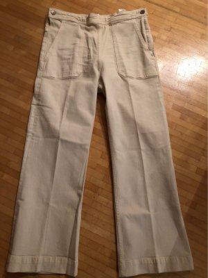 H&M Jeans stretch crème