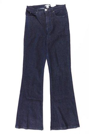 H&M Jeans Schlaghose Größe 36 blau aus Baumwolle