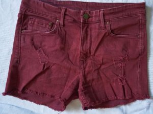 H&M Short en jean bordeau