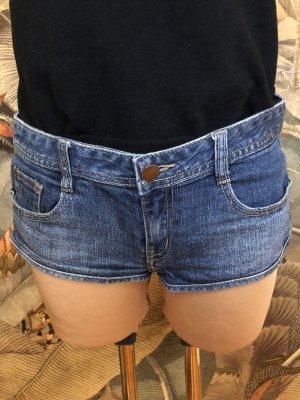H&M Hot Pants steel blue