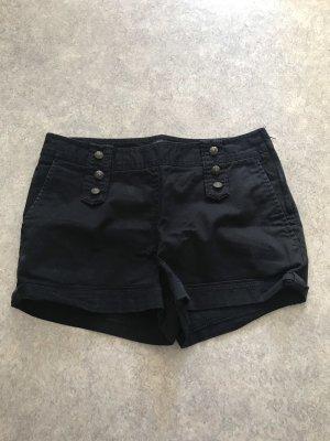 H&M Jeans Shorts kurze Hose mit Knöpfen und Taschen S