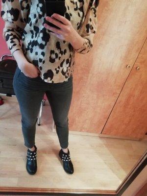 H&M Jeans Skinny Slim Fit Grau