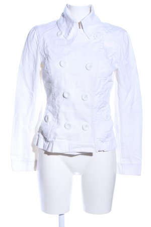 H&M Blazer in jeans bianco stile casual