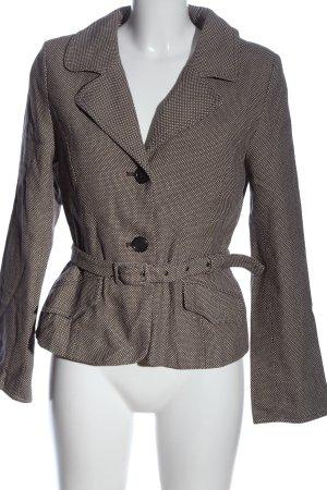 H&M Blazer en jean brun-blanc style d'affaires