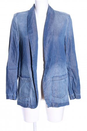 H&M Blazer vaquero azul look casual