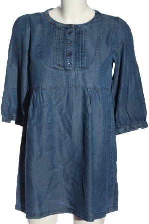 H&M Blusa vaquera azul look casual