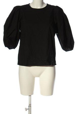 H&M Bluzka jeansowa czarny W stylu casual