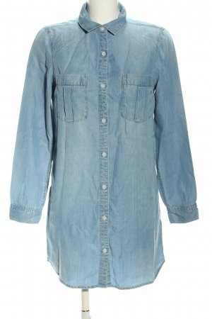 H&M Jeans blouse blauw casual uitstraling