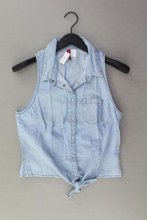 H&M Bluzka jeansowa niebieski-niebieski neonowy-ciemnoniebieski-błękitny