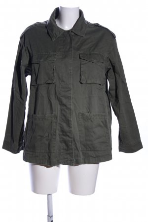H&M Jeanshemd khaki Casual-Look
