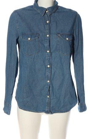 H&M Chemise en jean bleu style décontracté