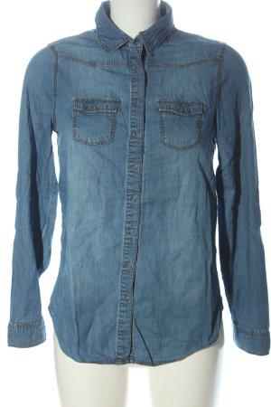 H&M Spijkershirt blauw casual uitstraling