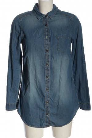 H&M Denim Shirt blue casual look