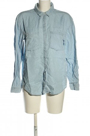 H&M Jeansowa koszula turkusowy W stylu casual