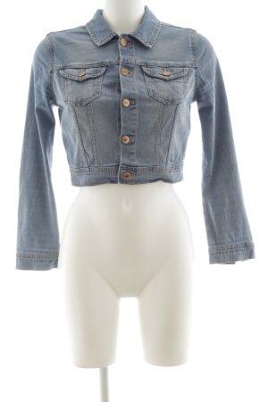 H&M Jeansjacke blau Casual-Look