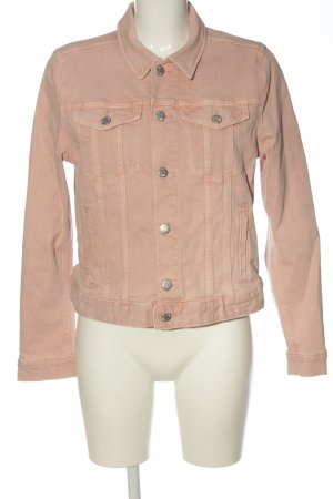 H&M Jeansowa kurtka kremowy W stylu casual