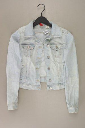 H&M Jeansjacke Größe 34 blau aus Baumwolle
