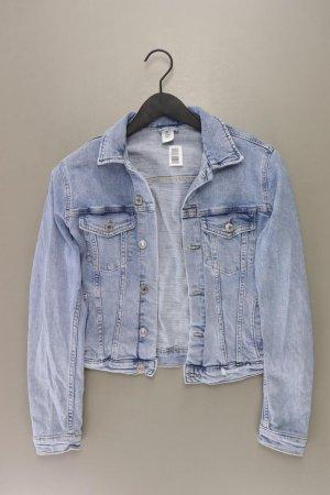 H&M Jeansjacke Größe 42 blau aus Baumwolle