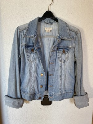 H&M Jeansjacke Jacke Jeans Denim XS 34 Hellblau Blau