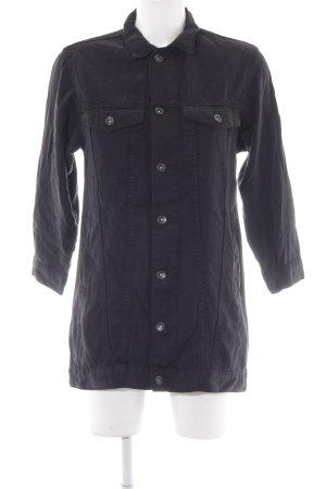 H&M Jeansjacke schwarz Casual-Look