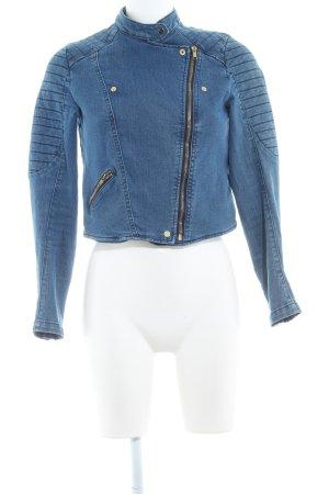 H&M Jeansjacke stahlblau Casual-Look