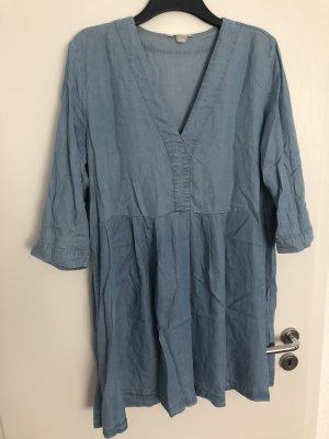 H&M Jeansowa sukienka Wielokolorowy