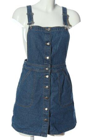 H&M Jeanskleid blau meliert Casual-Look