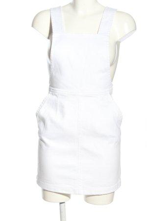 H&M Abito denim bianco stile casual