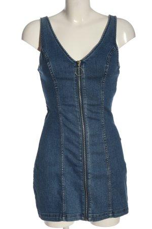 H&M Jeansjurk blauw casual uitstraling