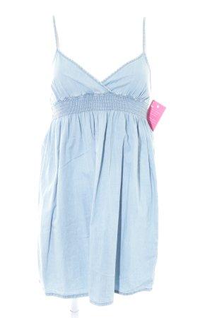 H&M Jeanskleid hellblau
