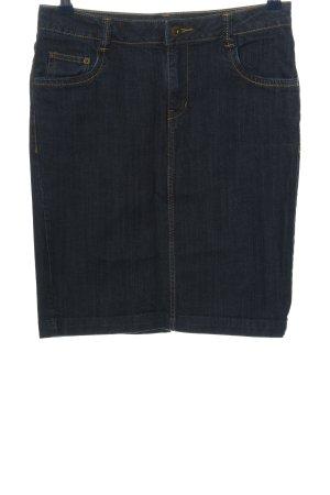 H&M Jeansrock blau Casual-Look