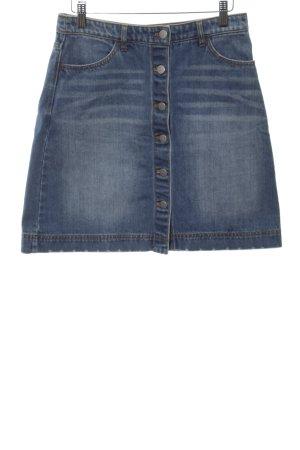 H&M Jeansrock blau