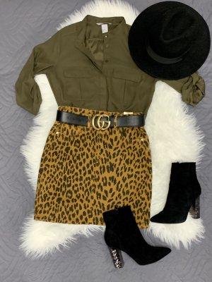 H&M Jeansowa spódnica Wielokolorowy