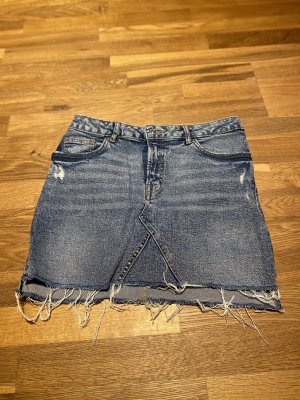 H&M Jeansrock Used Look
