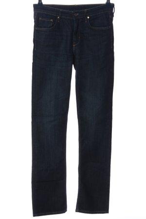 H&M Jeansschlaghose blau Casual-Look