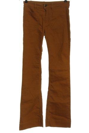 H&M Jeans a zampa d'elefante marrone stile casual