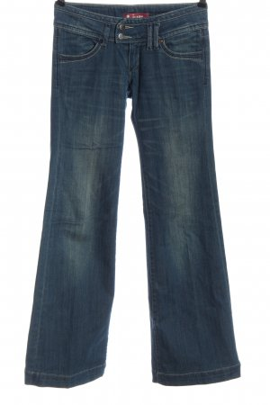 H&M Jeans a zampa d'elefante blu stile casual