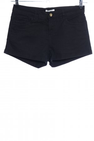 H&M Jeansshorts schwarz Casual-Look