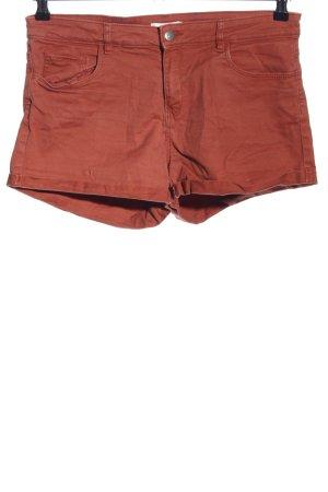 H&M Short en jean rouge style décontracté