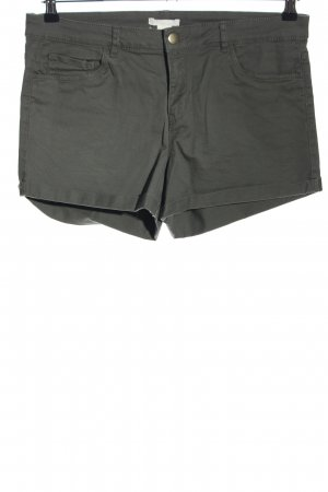 H&M Jeansshorts khaki Casual-Look
